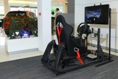 Pohyblivý závodní simulátor